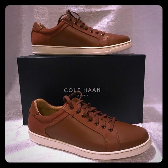 Nwt Cole Haan Men Shapley Tan Sneaker